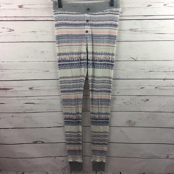 Splendid - Splendid Fair Isle Thermal Pajama Pants XS from Dillons ...